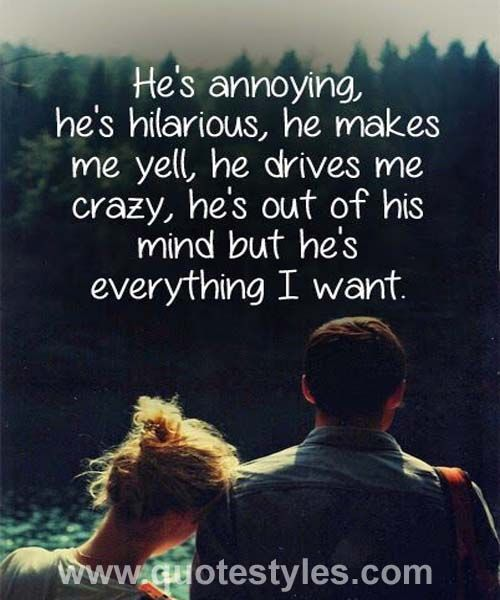 Everything i want- Love quotes