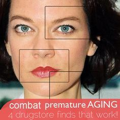Dr. Oz; 4 biggest signs of facial aging and how to fix them with inexpensive drug store finds!