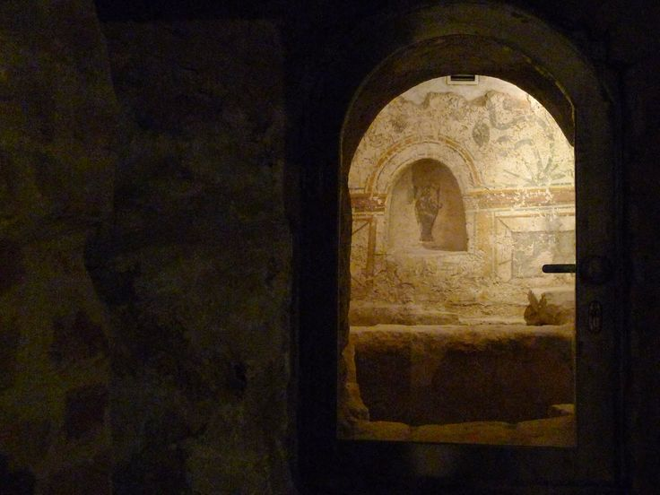 TrekDigest: UNESCO World Heritage Cella Septichora, Early Christian Burial Site in Pecs, Hungary.  http://trekdigest.blogspot.ca/2014/12/unesco-world-heritage-cella-septichora.html