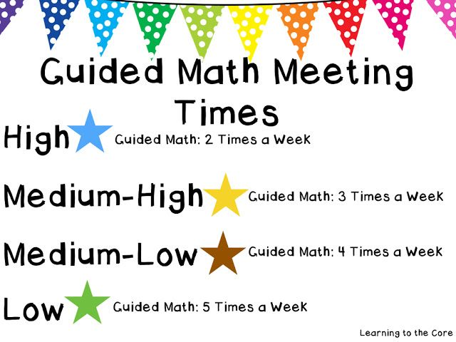 Guided Math Part 3: Using Assessment to Group Students for Guided Math {Free} Guided Math Grouping template in post.