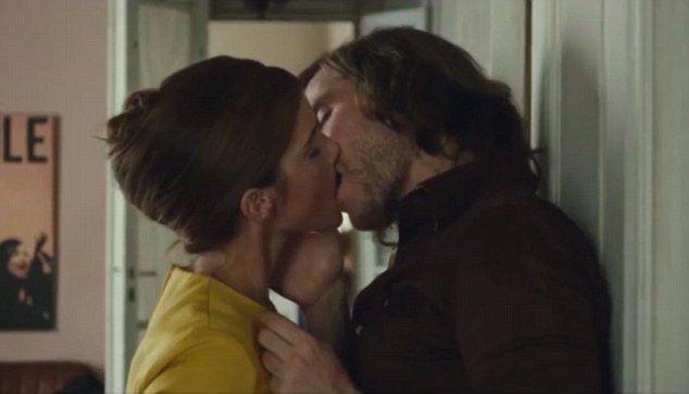 Emma Watson S Passionate Kiss In Colonia Trailer Love Movie