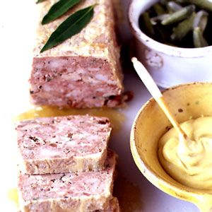 French Country-Style Pâté   Chicken Veal Pork  17 Pâté Recipes at http://www.saveur.com/gallery/Pates-and-Terrines