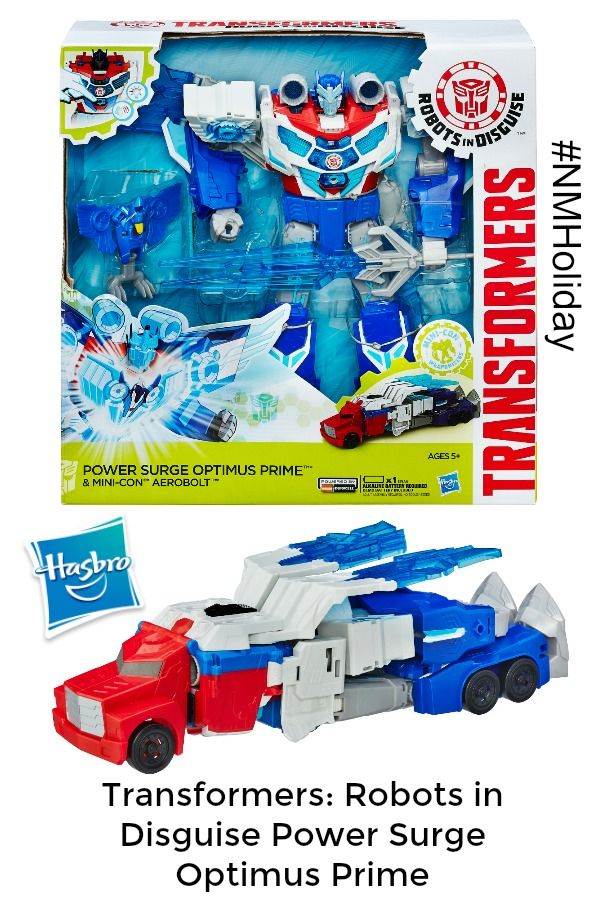 Transformers: Robots In Disguise Power Surge Optimus Prime #NMHoliday