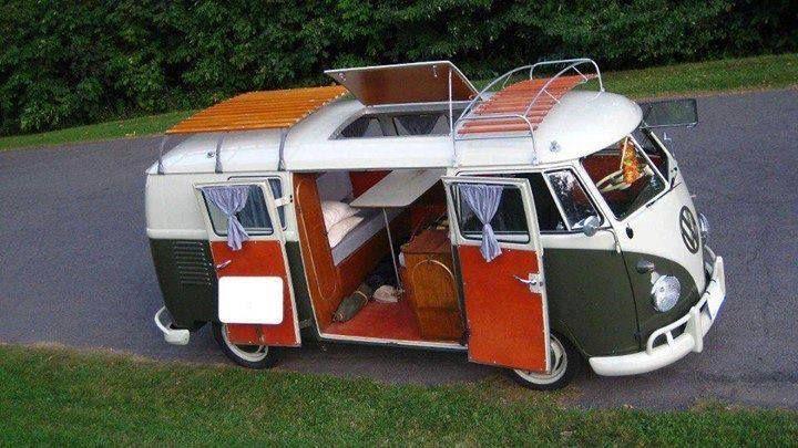 volkswagen t2 transporter combi home on the road. Black Bedroom Furniture Sets. Home Design Ideas