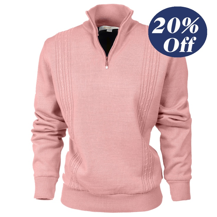 Was $115 now $92  Ladies windproof lined Sweater