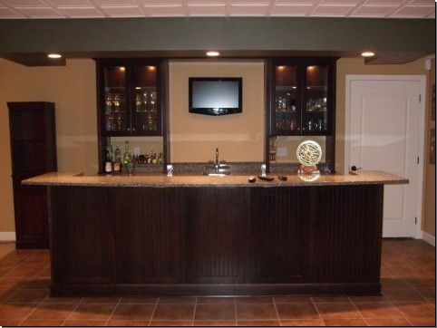 36 best images about basement addition on pinterest for Cost to build a bar in basement