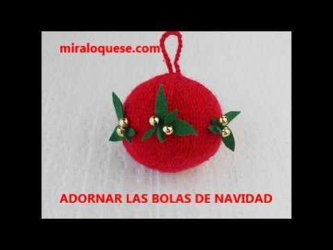 ADORNOS BOLA DE NAVIDAD - YouTube