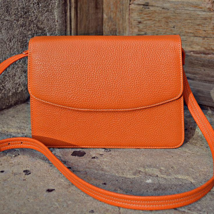 #the5thelementbags #rosettishowroom #springsummer #orange#miniG #SS2016 #shoulderbag
