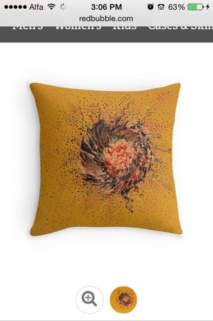 Redbubble is offering 25% off throw pillows and duvet covers.  Check it out: http://www.redbubble.com/people/dalalism/shop/throw-pillows?ref=artist_shop_product_refinement