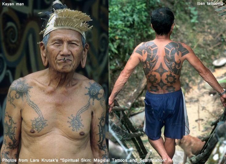 Iban Tattoo Design: