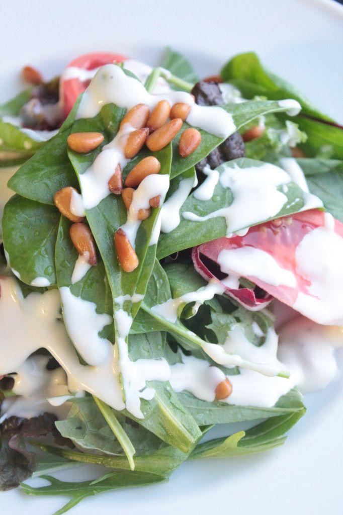 広島産 牡蠣フライ」や「土鍋豚汁」など冬の味覚が満載!レストランKOO ... ホウレンソウのサラダ バタードレッシング2