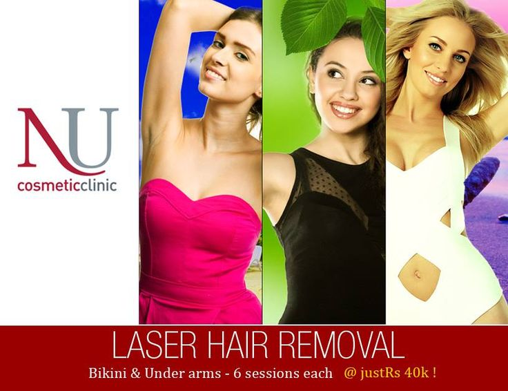 Summer Offer : Get LASER HAIR REMOVAL 6 sessions of underarms + 6 sessions of bikini area at an unbelievable price of JUST Rs. 40K. Hurry, call 18002001215 & book your appointment today! Click http://goo.gl/eyjhHN to know more about laser hair removal procedure.
