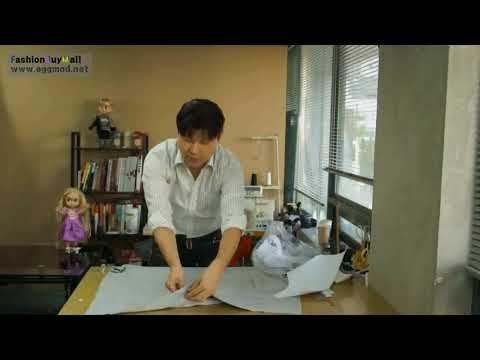 [EGGMOD] 린빠의 옷만들기10분레슨 1화 (콕콕! 손쉬운 티셔츠패턴뜨기) - YouTube