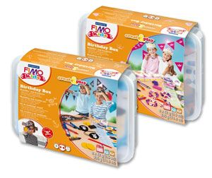 Staedtler FIMO Kids Create and Play Birthday Boxes