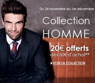 Catalogue Promod Collection Homme du lundi 24 novembre 2014 au lundi 1 décembre 2014 ( 24/11/2014 - 01/12/2014 )