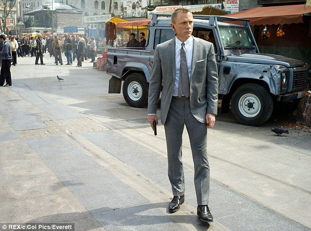 The much loved vehicle was also featured in the latest James Bond film, Skyfall