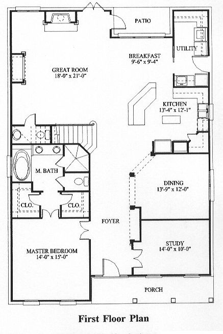 1000 images about house plans on pinterest house plans for Cape cod house plans with first floor master bedroom