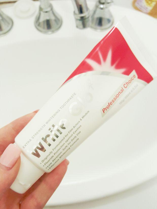 MY NIGHT TIME ROUTINE : Teeth - White Glo whitening toothpaste