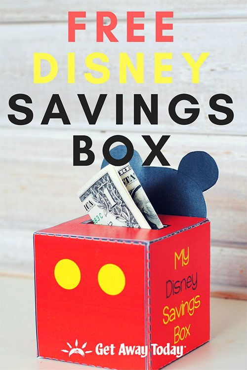 Disney Savings Box