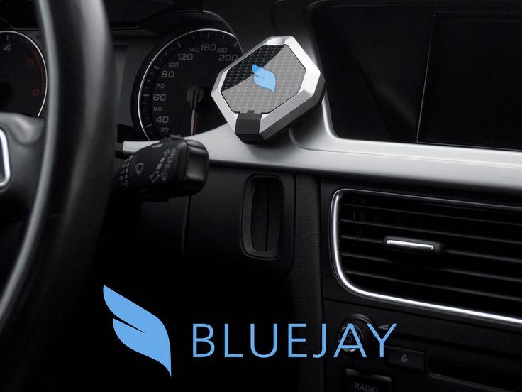 Bluejay – Le support pour smartphone connecté pour la voiture