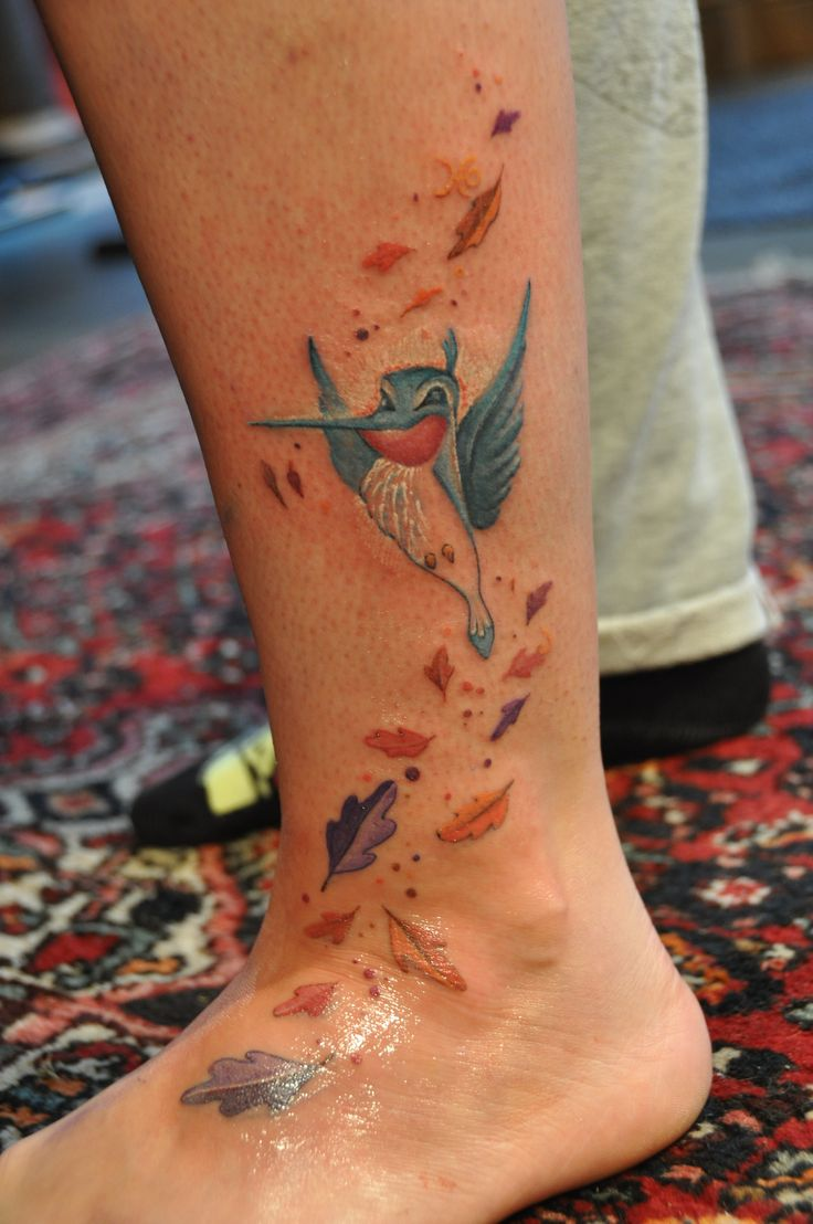 Flit pocahontas disney tattoo