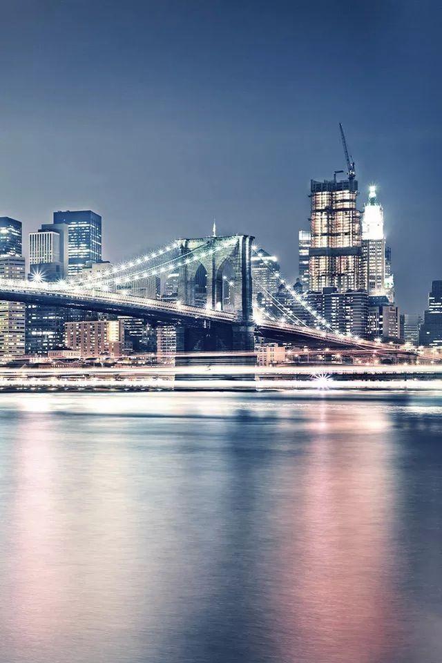 Bridge night #iPhone #4s #Wallpaper