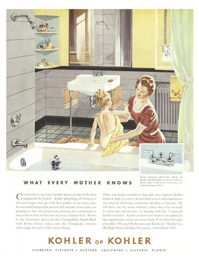 8 best KOHLER Vintage Ads images on Pinterest   Vintage ads, Vintage ...