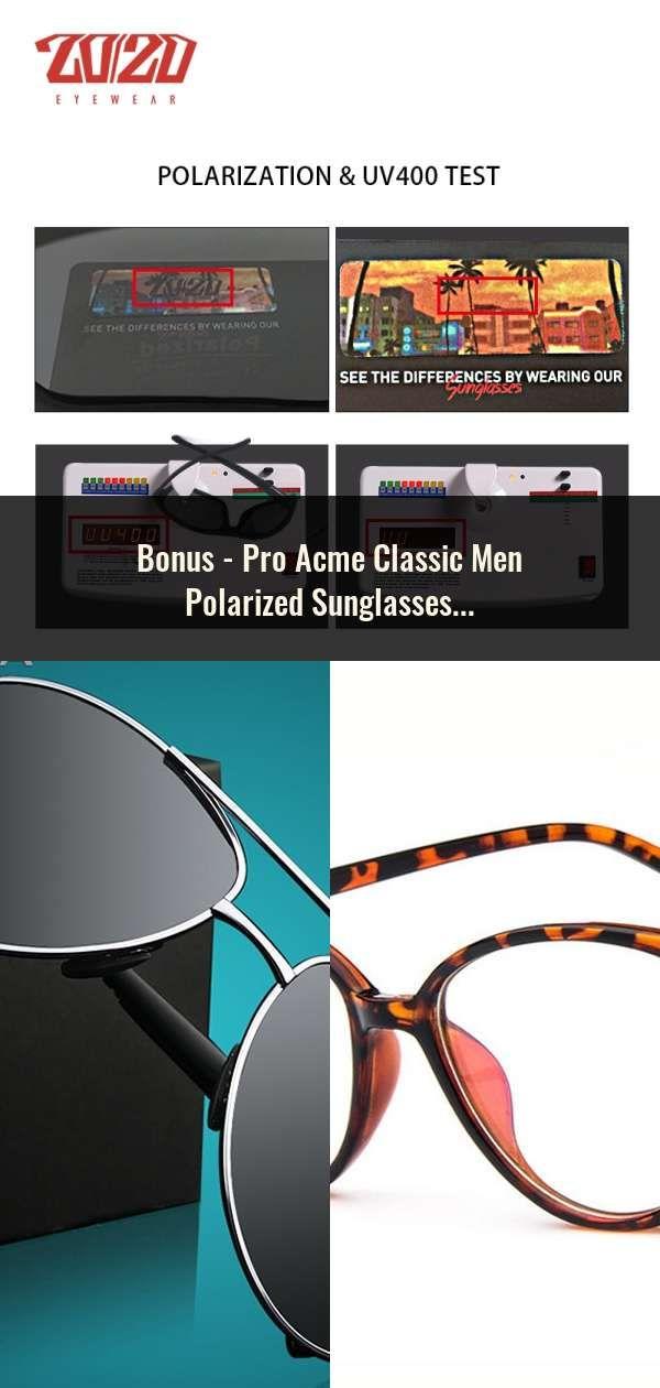 ba0d4cd7ac Pro Acme Classic Men Polarized Sunglasses Polaroid Driving Pilot Sunglass  Man Eyewear Sun Glasses UV400 High Quality CC0444