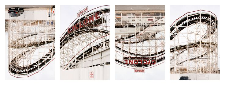 USA-New York (2008) - Serie: Coney Island - Cyclone Rollercoaster