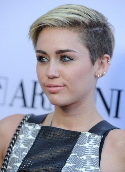 Miley Cyrus Short Straight Cut - Short Hairstyles Lookbook - StyleBistro