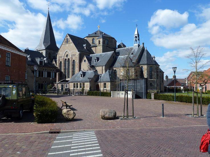 De kerk in Denekamp