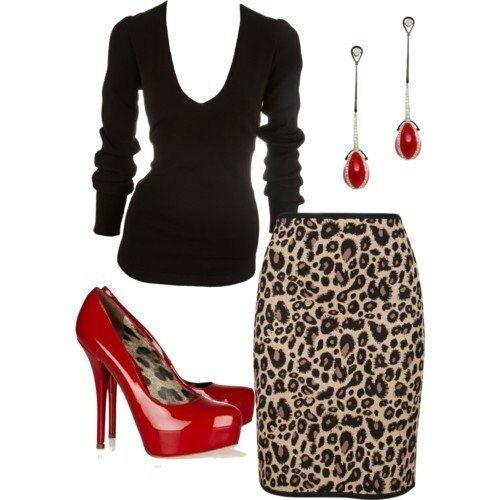 Leopard skirt, www.lolomoda.com