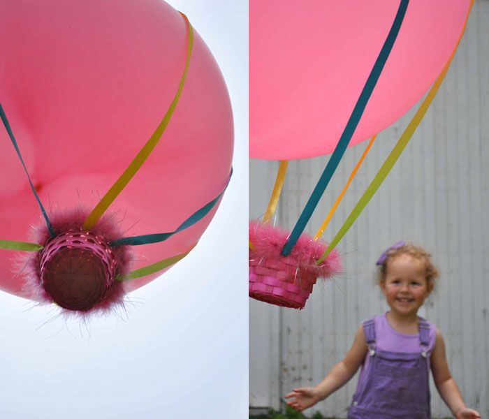crafts for kids: Crafts For Kids, Hot Air Balloon, Crafts Ideas, Photos Kids, Balloon Crafts, Kids Crafts, Kids Photos, Summer Activities, Parties Ideas