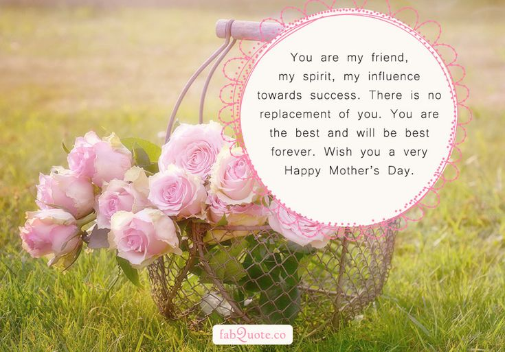 """""""You are my friend, my spirit, my influence towards success. There is no replacement of you. You are the best and will be best forever. Wish you a very Happy Mother's Day."""" (Visited 1 times, 1 visits today)"""