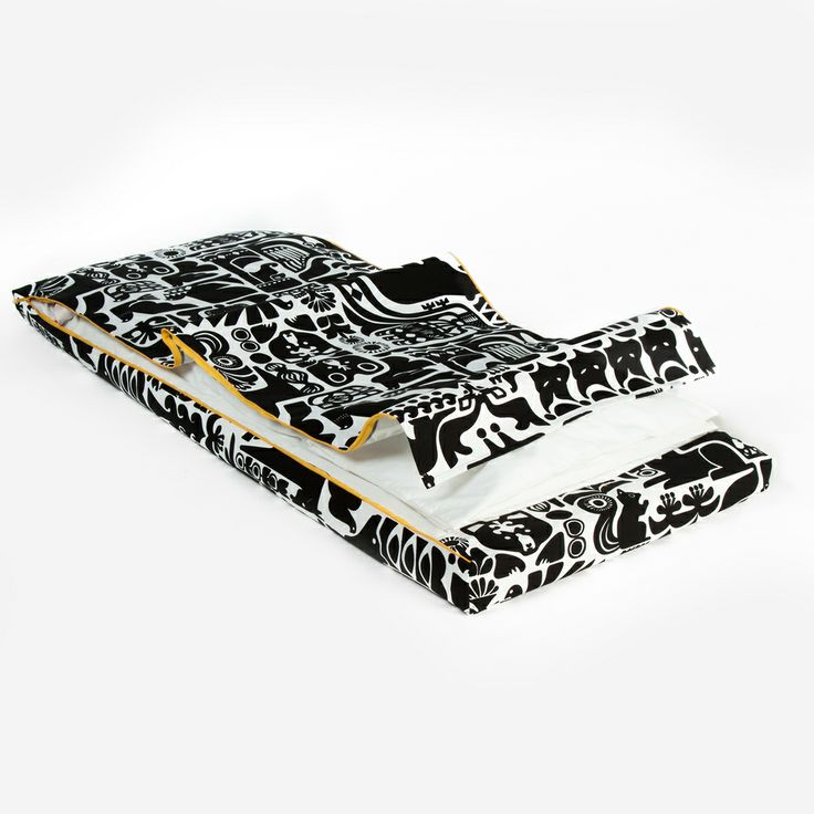 AVA bed cover with zippers.