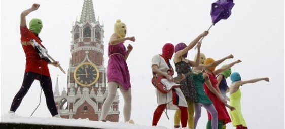 Free Pussy Riot NOW! EWL issues Statement to Russian government