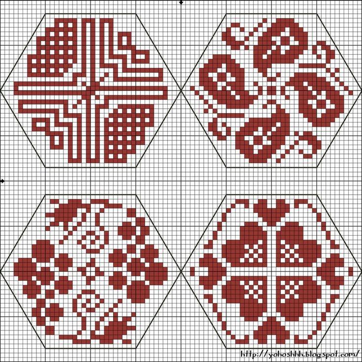 Крестики без ноликов.: Проект The Quaker Ball. Шестиугольники 5 - 8.