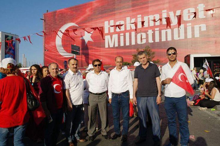 Hak-İş, CHP'nin Barış ve Demokrasi Mitingi'ne katıldı