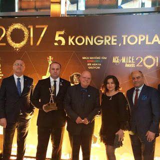 Turizm Forumu: Elite World Van Otel'e ikinci kez ACE of MICE ödül...