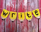 Classroom Decor Pencil Banner