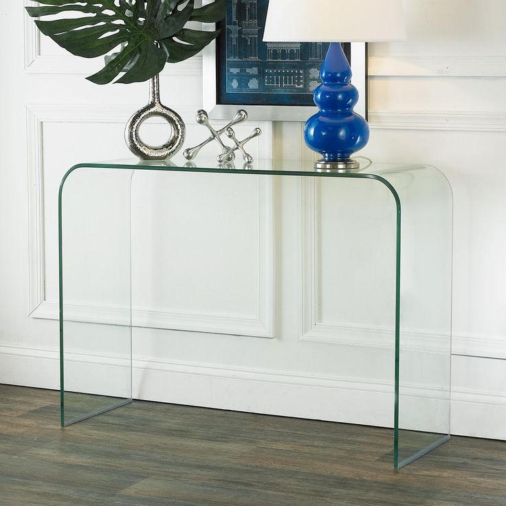 Awesome Tempered Glass Console