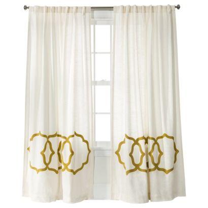Fretwork Border Curtain Panel Threshold Window Panels Window And Target Living Room