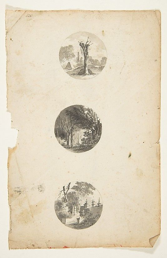 Designs for Buttons, Attributed to Anonymous, French, 18th century