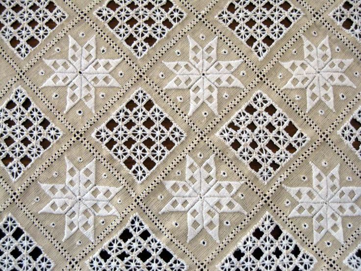 Lefkara lace!  [Which looks astonishingly like Hardanger lace... - MS]