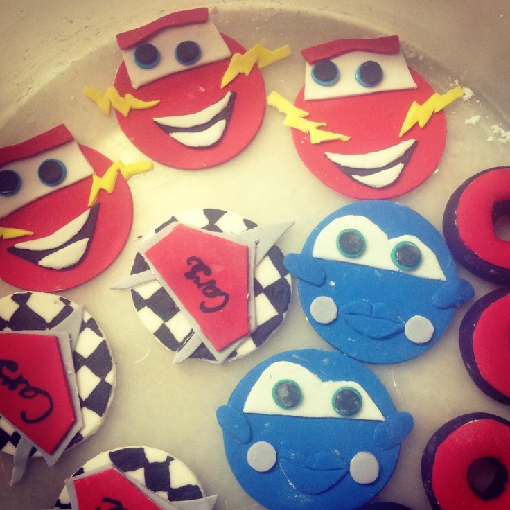 36 Best Images About Car Cupcake Toppers On Pinterest