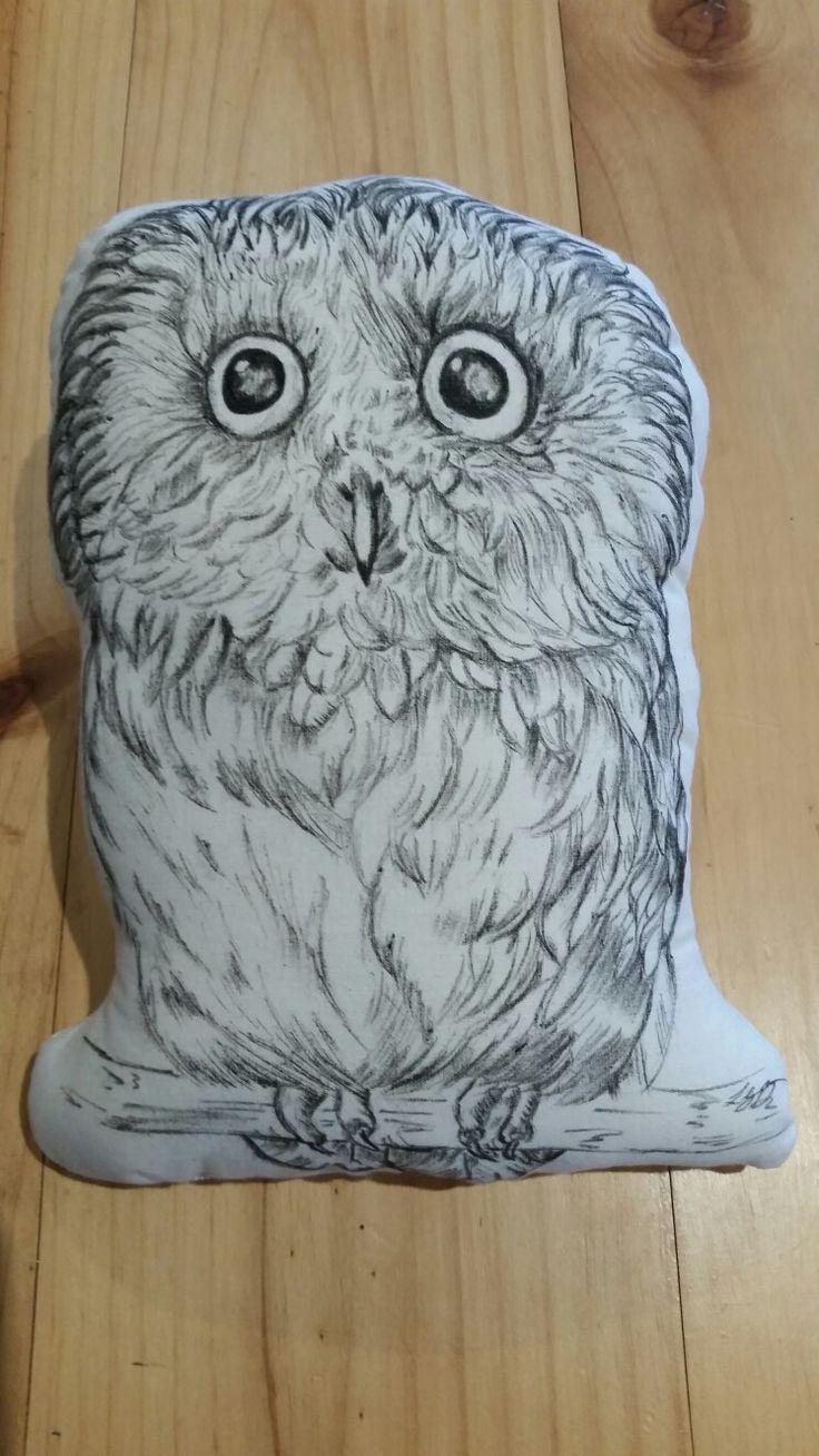 Twit twoo owl cushion