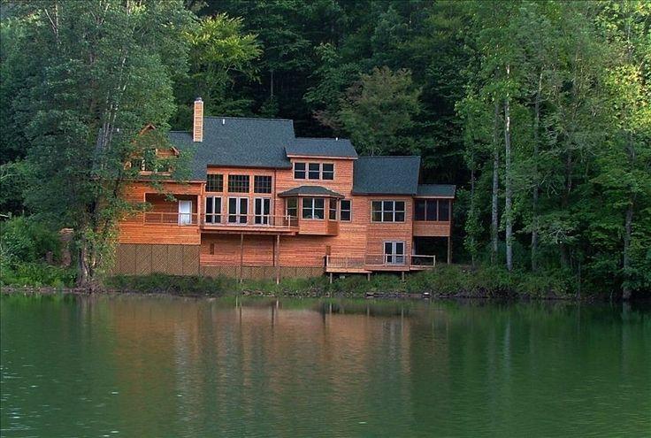 Lake Santeetlah Vacation Rental - VRBO 333437 - 3 BR Lake Santeetlah House in NC, Create Smoky Mountain Memories, Santeetlah Spectacular Lakefront Home