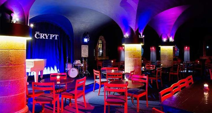 Jazzing things up at The Crypt