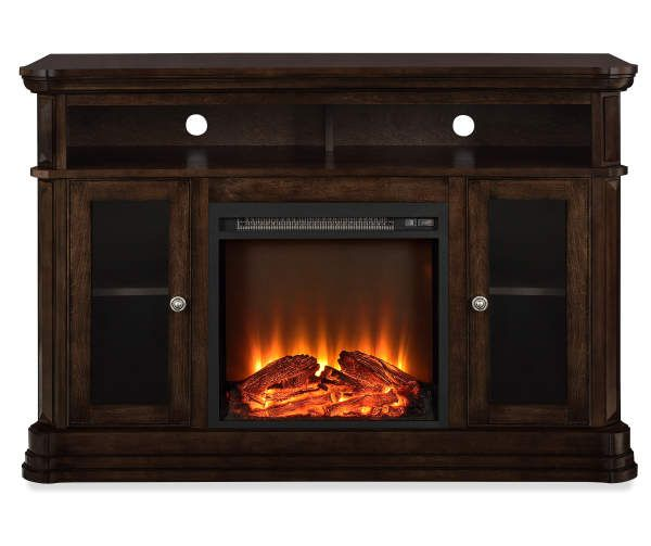 Northwoods Espresso Electric Fireplace Console In 2020 Fireplace