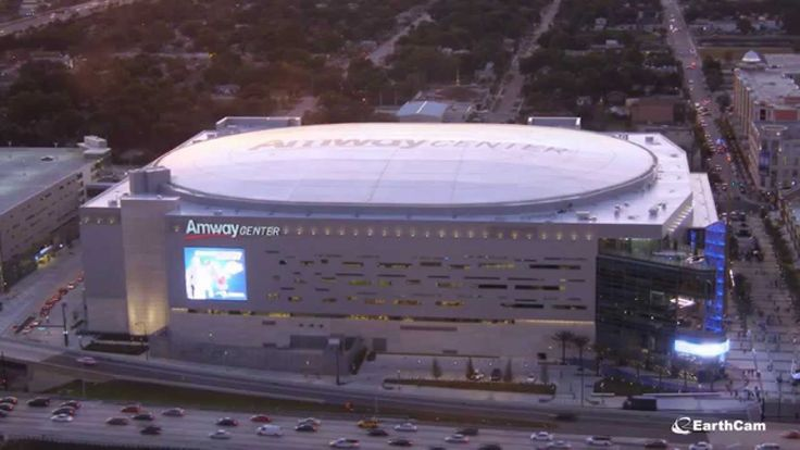 Orlando Magic Amway Center Time-Lapse